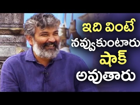 SS Rajamouli About Funny Incident In The Sets Of Baahubali | #Baahubali2 | TFPC