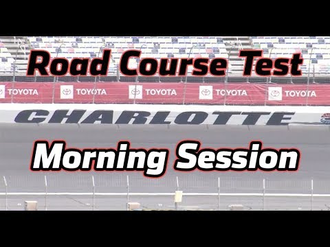 LIVE: Testing at Charlotte Motor Speedway