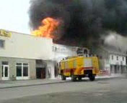 brann på leknes