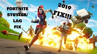 How to FIX Stuttering/Lag in FORTNITE easily!!! 100% WORKING FIX(2019)