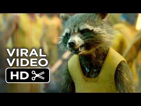 Guardians of the Galaxy VIRAL VIDEO - Rocket Raccoon (2014) - Bradley Cooper, Chris Pratt Movie HD