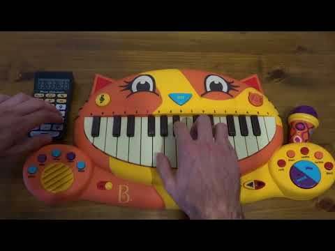 XXXTENTACION ft. TRIPPIE REDD - F..K LOVE PLAYED ON A CAT PIANO AND A DRUM CALCULATOR