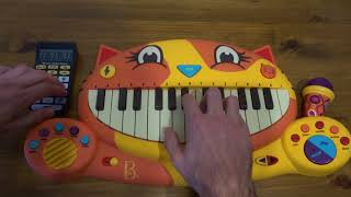 Xxxtentacion Ft. Trippie Redd F..K LOVE PLAYED ON A CAT PIANO AND A DRUM CALCULATOR.mp3