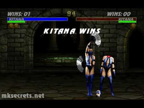 Video - Ultimate Mortal Kombat 3 - Fatality 2 - Kitana