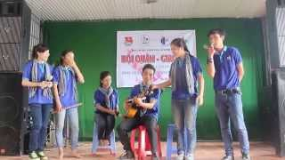 [Sáo+guitar đệm] Làm tình nguyện hết mình - Mùa Hè Xanh Cofer 2014 Mỏ Công Tây Ninh :)