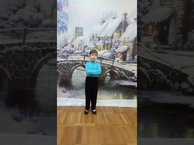 Изображение предпросмотра прочтения – ТимурМихайлов читает отрывок изпроизведения «Снежок порхает, кружится» Ф.И.Тютчева