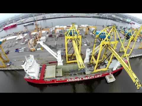 HHL Valparaiso - Delivering giant cranes via the NSR