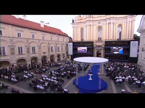 EBU Lithuania ceremony