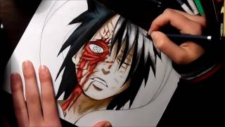 Speed Drawing - Obito Uchiha (Naruto)