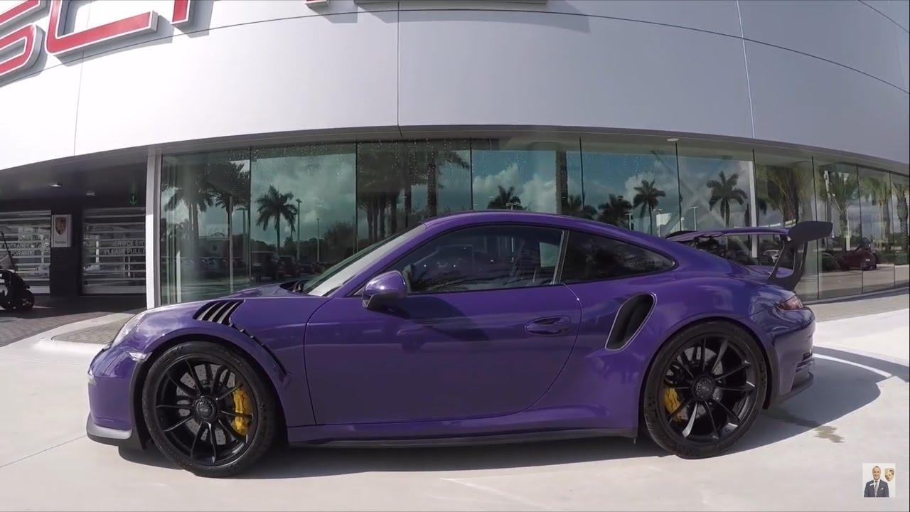 2016 Ultraviolet Porsche 911 GT3 RS 500 hp @ Porsche West Broward