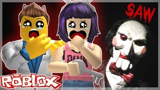 ROBLOX - Estamos atrapados !! - Saw in roblox - C/Kepu