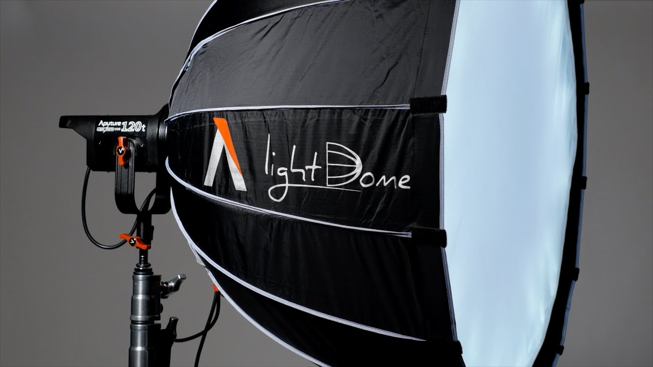 aputure light dome soft box for cob 120 led light and 87876