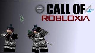 Deixa o jogo: chamada de Robloxia 5-Roblox na guerra v jogo de jogabilidade. Parte 1