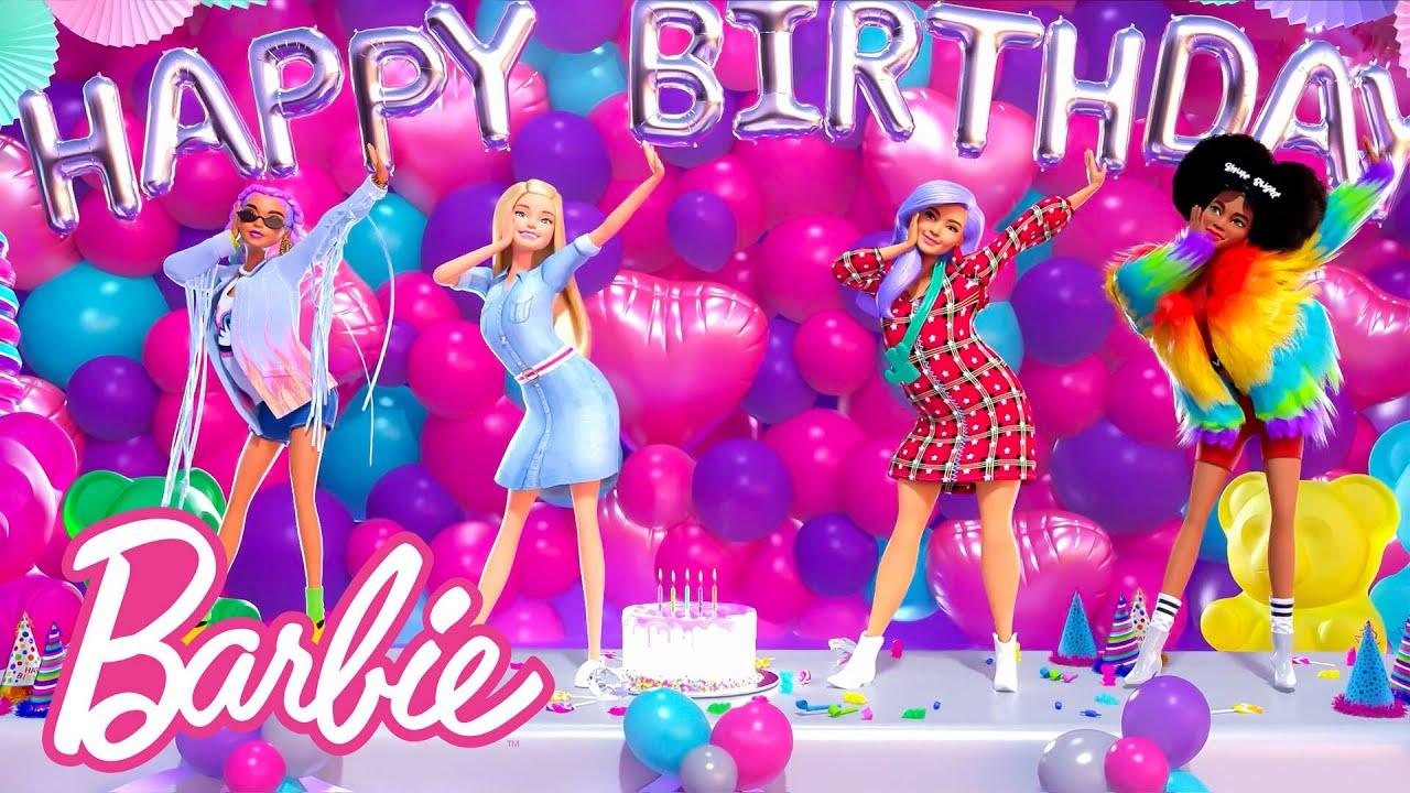 Barbie's BIRTHDAY Song! Happy Birthday, Barbie! | @Barbie