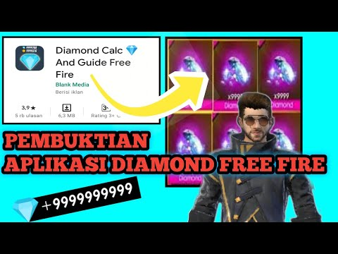 Pembuktian Aplikasi Diamond Gratis Free Fire Terbaru.