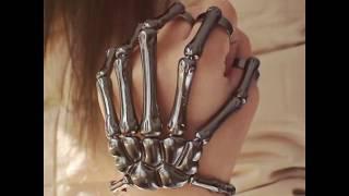 Skull Skeleton Hand Bracelet