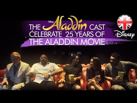 ALADDIN THE MUSICAL |  Celebrating 25 years of the Animated Film, Aladdin! | Official Disney UK