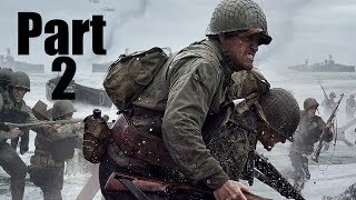 """Call Of Duty: WWII Multiplayer Beta Gameplay Part 2 """"Heroic Service!!!"""""""