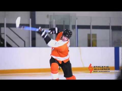 OneTimer Hockey Tips from Athletic Alliance Sport Supplements, feat. Alex Burrows