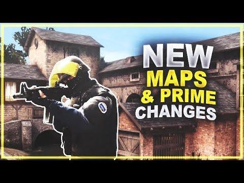 CS:GO Update - New Maps, the return of Vertigo & Prime Change