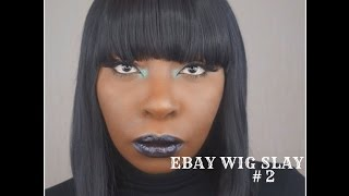 EBAY WIG REVIEW #2 | SLAYING ON A BUDGET | UK REVIEW