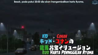 Detective Conan Vs Kaito KID Subtitle Indonesia