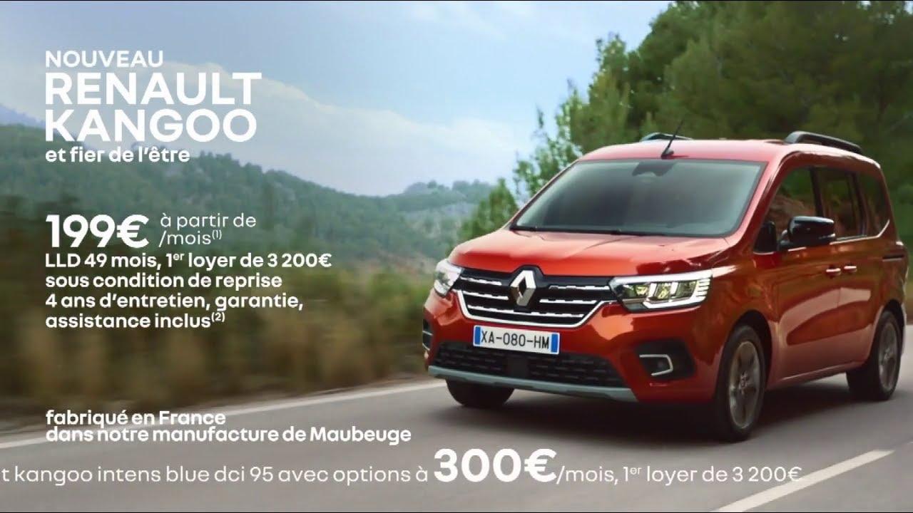 """Musique pub Nouveau Renault Kangoo """"et fier de l'être""""  2021"""