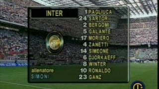 1997-1998 Inter Vs Brescia 2-1