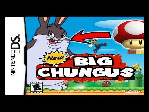 big chungus eats a fungus