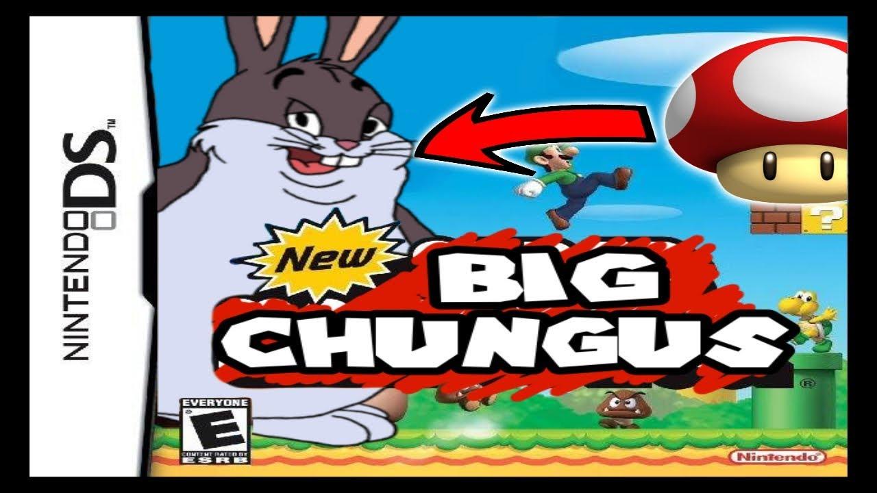 Big Chungus Eats A Fungus Youtube
