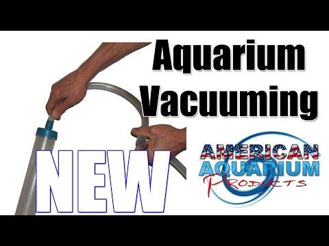Planted Aquarium Vacuum Demonstration-New