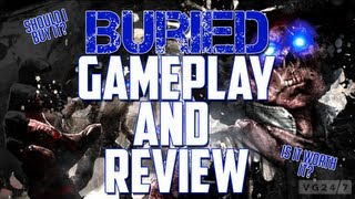 Black Ops 2 Zombies l Buried Review. Vengeance DLC 3. Xbox360 and PS3.