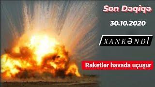 Xankəndinə yaxın çox böyük raket anbarı partladıldı - 30 oktyabr