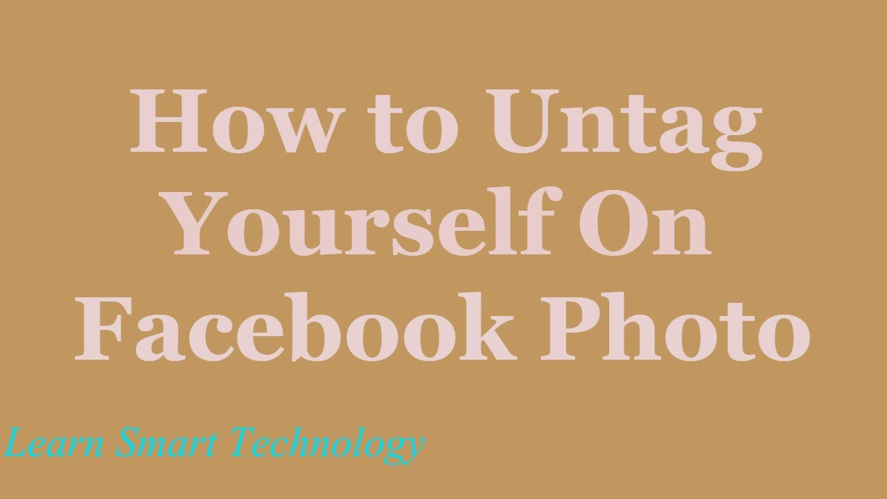how to get someone to remove a photo on facebook