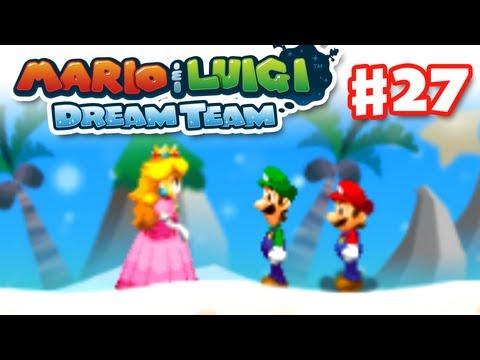 Mario & Luigi: Dream Team - Gameplay Walkthrough Part 27 - Driftwood Shore (Nintendo 3DS)