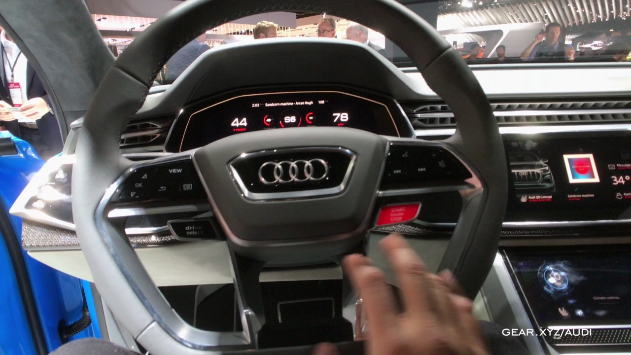 Exclusive Hands On Audi Q8 Concept Interior Youtube