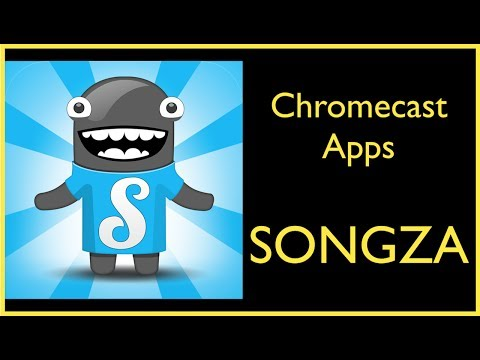 ChromeCast Apps ~ Songza, Music From Experts