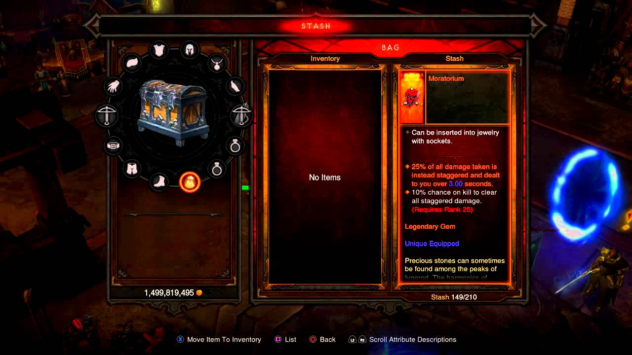Diablo 3 Ultimate Evil Edition 2.1 List of Legendary Gems - YouTube