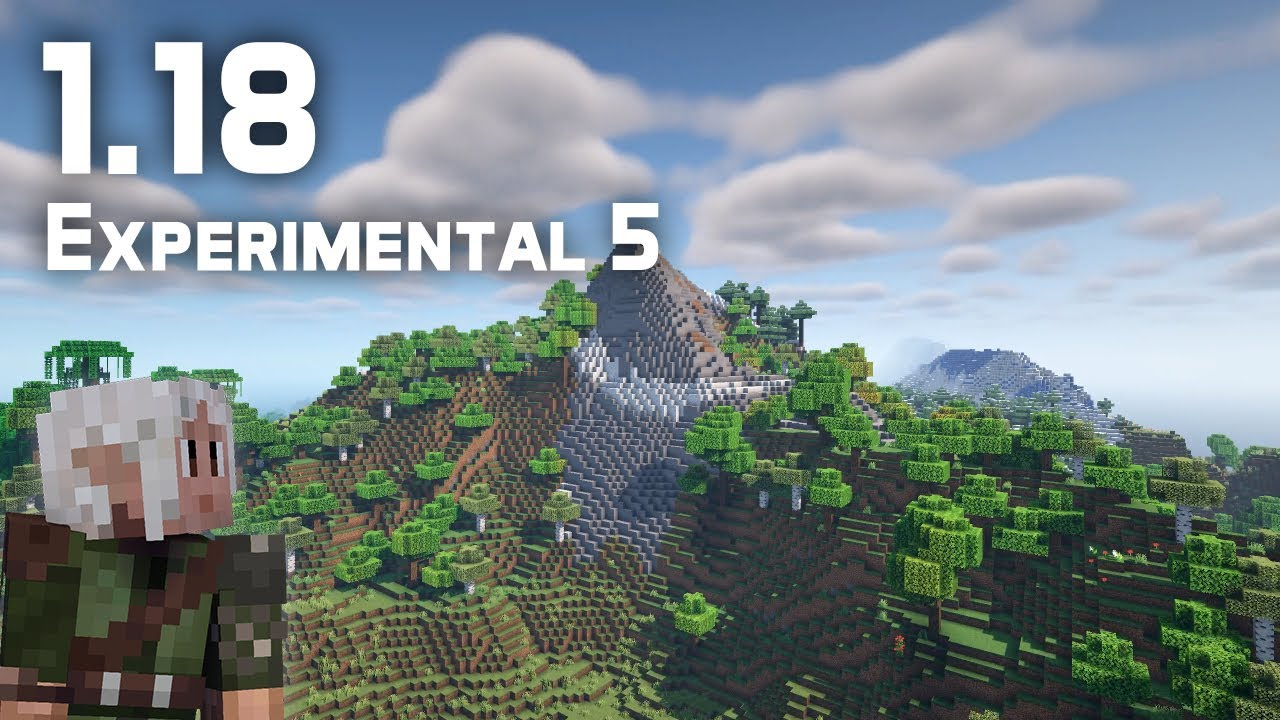 What's New in Minecraft 1.18 Experimental Snapshot 5?