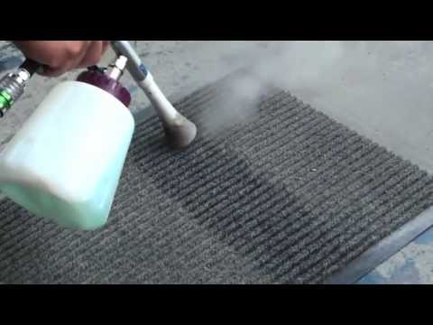 A-Vortice: how to use a car cleaning air gun - Video demo
