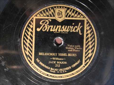MELANCHOLY BLUES by Jack Major - Country Yodel