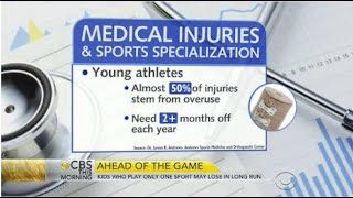 Will focus on one sport make your child a star athlete_CBS This Morning_8.18.15