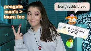 I LET CLUB PENGUIN PLAYERS PICK MY MAKEUP