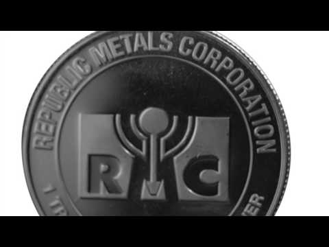 APMEX Silver Rounds | 1 oz Silver Round - Republic Metals Corporation (RMC)