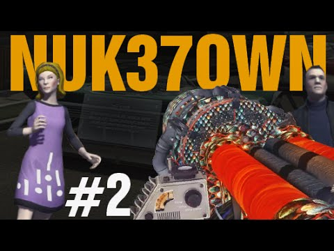 """GOLDEN PACK-A-PUNCH TRIO! NUK37OWN """"Call of Duty Zombies"""" Gameplay"""