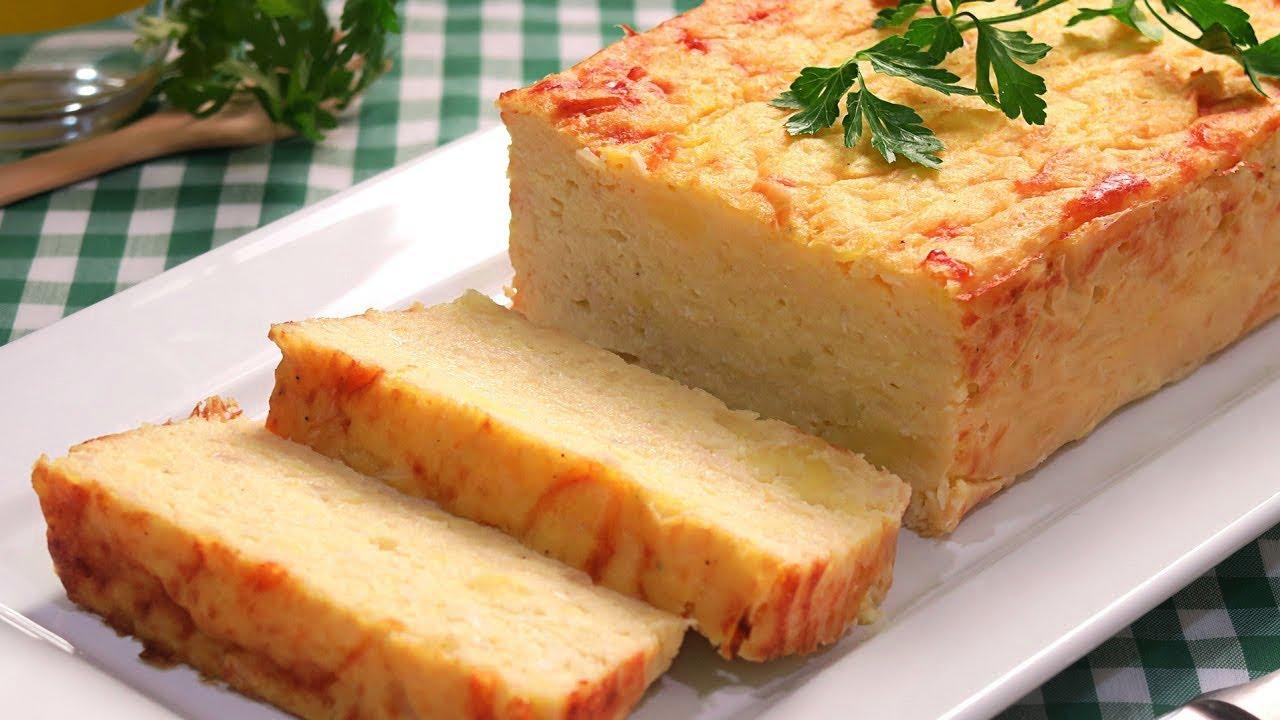 Pastel de Coliflor y Patata | Receta Fácil Rápida y Deliciosa!