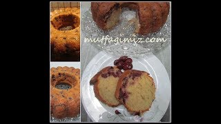 Meyveli Kek Tarifi - Kolay Kek Tarifleri /Mutfağımız'dan Lezzetler