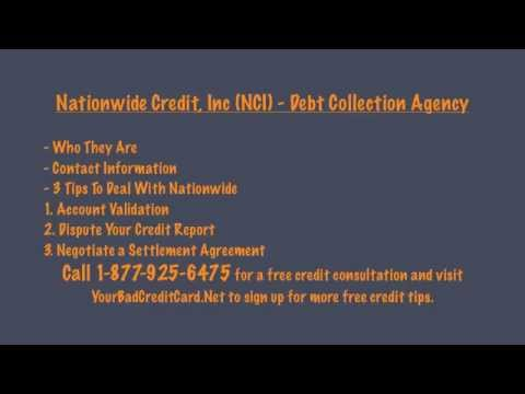 Nationwide Credit Inc (NCI) - Debt Collection Agency