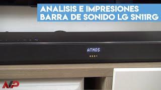 Análisis LG SN11RG: una de las mejores barras de sonido Dolby Atmos del 2020