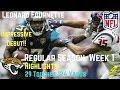 Leonard Fournette Week 1 Regular Season Highlights Impressive Debut | 9/10/2017